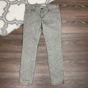 Free People Grey Skinny Jeans Size 27